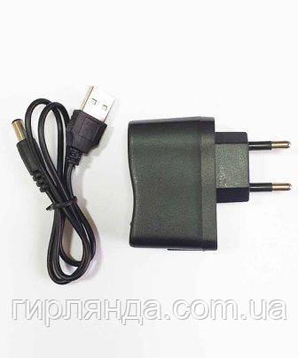 Блок живлення 1А для роси, USB+кабель