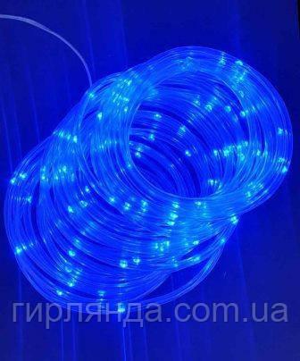 РОСА в силіконовій трубці 100 LED, 10м, синій