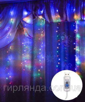 ШТОРА-РОСА 120л 3м*0,6м статична, мульті