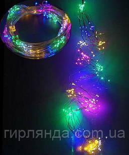 ПУЧОК-РОСА 300LED, 10 ліній по 3м, мульті