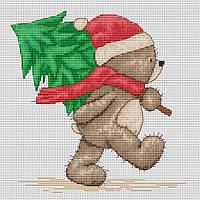 Набор для вышивки крестом Luca-S B1095 Медвежонок Бруно