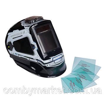 Комплект захисних стекол для маски зварювальника Vitals Professional 2.0 Panoramic true color2500 LCD