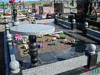 Гранитный цоколь на могилы, фото 1