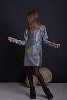 {есть:128} Платье для девочек,   Артикул: AS5423-серебро [128], фото 1