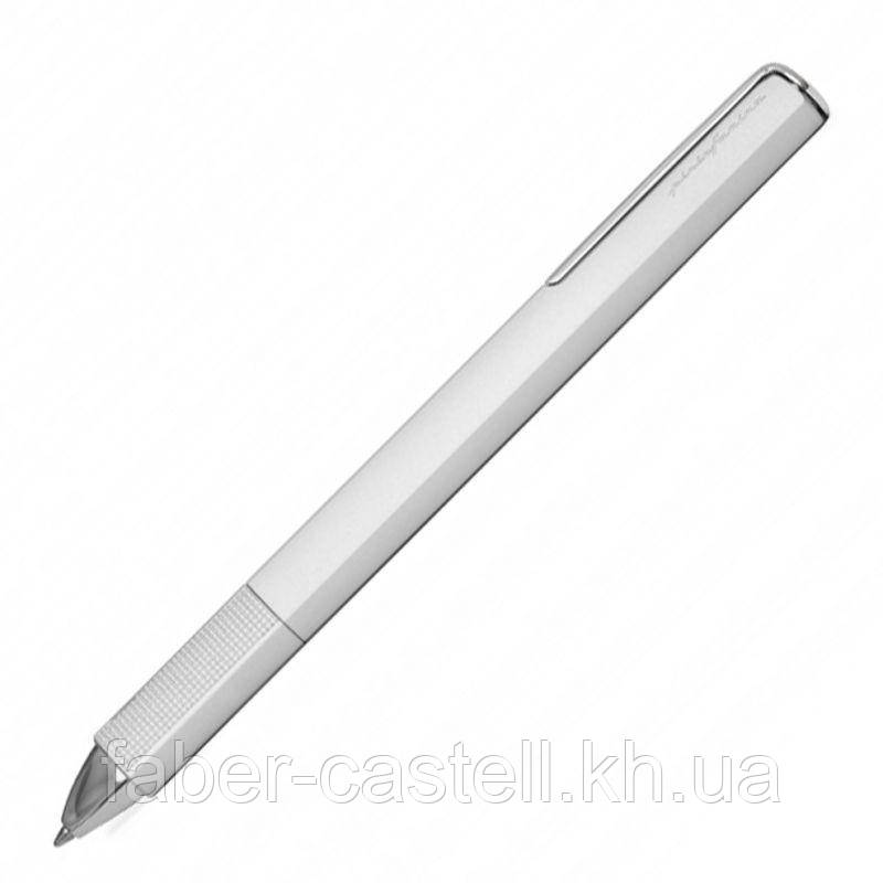 Ручка шариковая Pininfarina PF One Silver, корпус металлический серебряного цвета