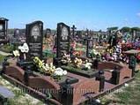 Гранитные надгробия, фото 5