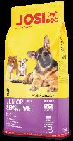Сухой корм JOSERA JosiDog Junior Sensitive для щенков и молодых собак с чувствительным пищеварением (18 кг.)