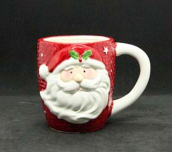 Чашка с Санта клаусом 375мл 7938-5