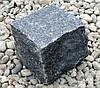 Брусчатка колотая габбро черная
