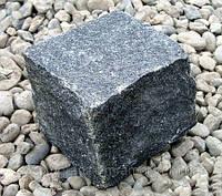 Брусчатка колотая габбро черная, фото 1