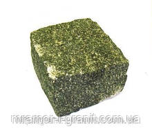 Брусчатка колотая зеленая Маславка челновая