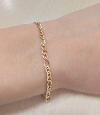 Золотой браслет Картье