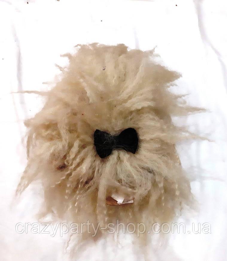 Карнавальный парик пышный дикарь Баба-Яга  б/у