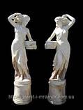 Скульптуры из мрамора девушки, фото 3