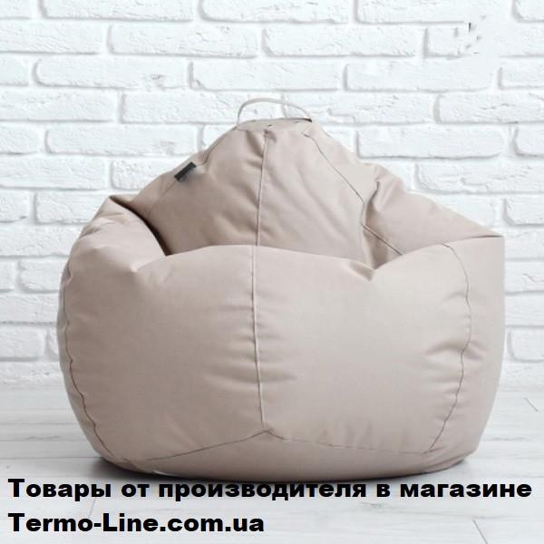 Кресло груша Jolly-M 80см детская бежевая