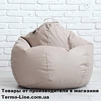Кресло груша Jolly-M 80см детская бежевая, фото 1
