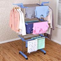 Сушилка для белья и одежды Three Layers Clothes Rack