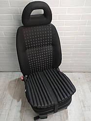 Подушка на авто сидіння EKKOSEAT. Чорна, сіра, бежева. Універсальна.