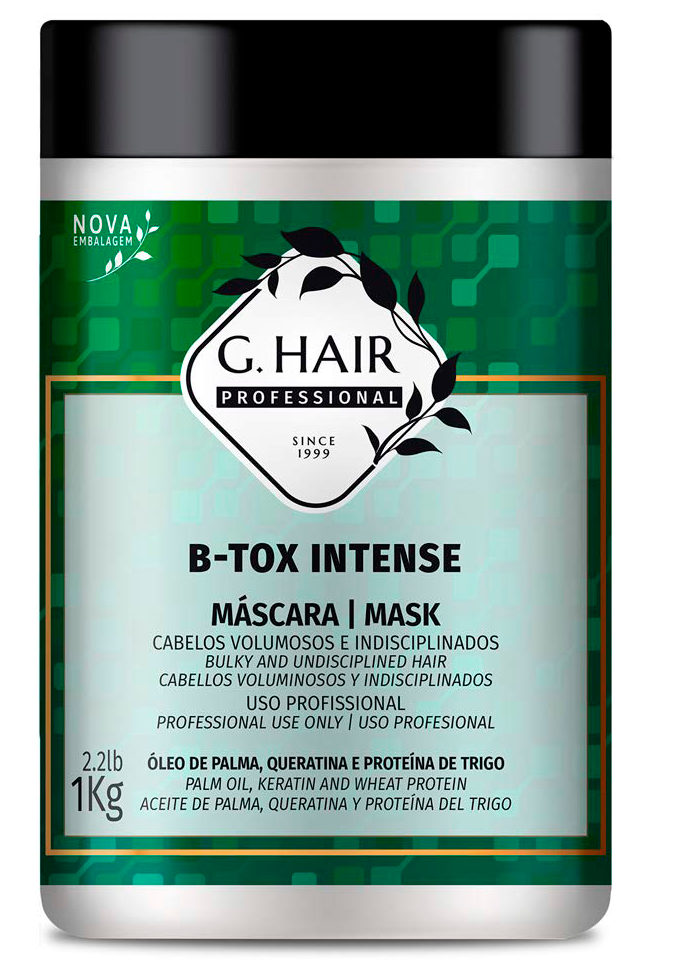 Холодный ботекс для волос B-tox Intense Ghair