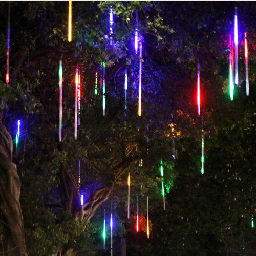 Світлодіодна гірлянда Тане бурулька новорічна 8 по 50 см Мультиколір
