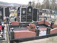 Гранитный цоколь на могилы