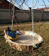 Кормушка для птиц синичка на сосне, фото 2