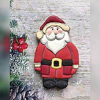 Новорічні смачні подарунки імбирне печиво Санта