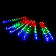 Світлодіодна гірлянда Тане бурулька новорічна 8 по 50 см Мультиколір, фото 2