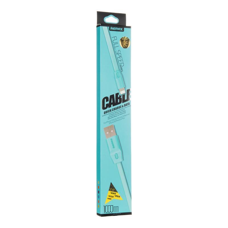 USB кабель Remax Full Speed RC-001i iPhone 6 Blue 1m (5-010)
