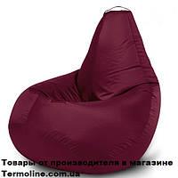 Кресло груша Jolly-L 90см детская бордо, фото 1