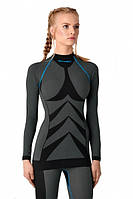 Термокофта Spaio women W01 L Black-blue SKL35-187637