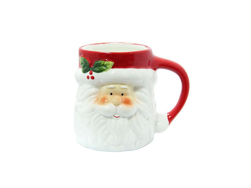 Большая чашка с Санта Клаусом 450мл