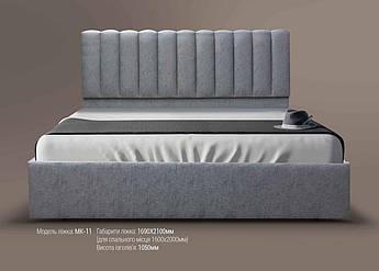 Мягкая кровать МК-11 MegaMebli