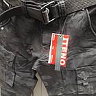 Джинси чоловічі ITENO (Tophero) оригінал р. 33 прямі Камуфляж чорні весна/осінь (є інші кольори), фото 2