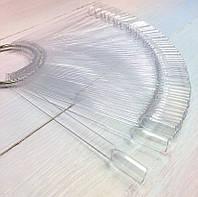 Палитра пластиковая для гелей и лаков, на кольце, прозрачная, 50 цветов