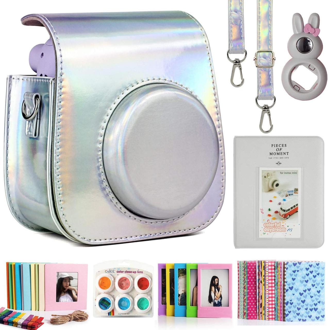 Набор для Камеры моментальной Печати Fujifilm Instax Mini 11 Чехол, Линзы, Рамки, Альбом от CAIUL