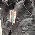 Джинси чоловічі ITENO (Tophero) оригінал р. 34 прямі Камуфляж чорні весна/осінь (є інші кольори), фото 2