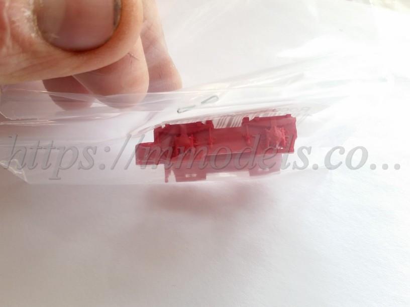Запасные части -  тележка тендера паровоза BR01, масштаба 1/87 Roco 106208