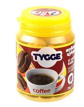 Цукерки жувальні зі смаком Кави, Tygge, 70г