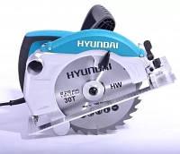 Дисковая пила ручная (циркулярка) Hyundai C 1800-210, диск 210 мм, 1800 Вт, 5300 об/мин, глуб.пропил