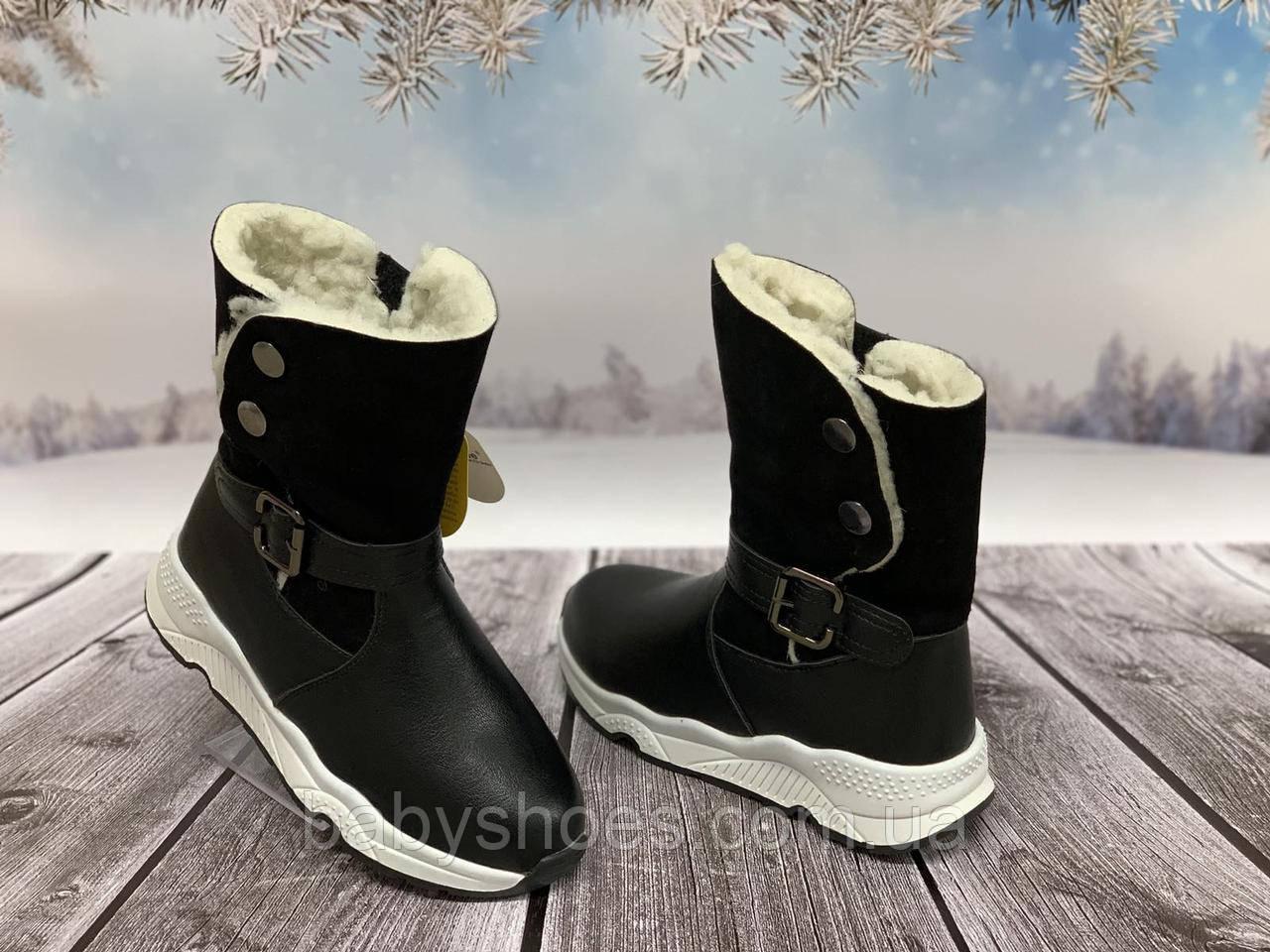 Зимние сапоги для девочки Clibee, р 32-37, ЗД-247