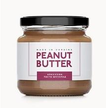 Арахісова Паста шоколад, Peanut Butter, скло, 180г