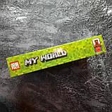 Конструктор Minecraft всадник на драконе края 138 деталей, фото 2