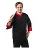Кухарський костюм чоловічий Брюссель чорний №6