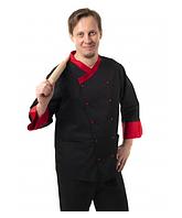 Кухарський костюм чоловічий Брюссель чорний №6, фото 1