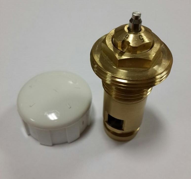 """Клапан під термоголовку панельного радіатора SOLOMON NV 5200 М30х1,5 OUTER 1/2""""х41мм"""