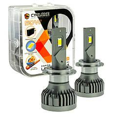 Лампа светодиодная для фар CYCLONE LED H7 5500K 10000LM TYPE 34 2 шт комплект