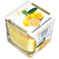 Арома свеча в стекле (Лимон) 011220-002
