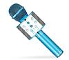 Микрофон беспроводной для караоке Bluetooth Wester WS-858 Голубой цвет, фото 3