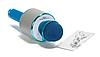 Микрофон беспроводной для караоке Bluetooth Wester WS-858 Голубой цвет, фото 4